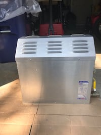 white and gray portable air cooler 408 mi