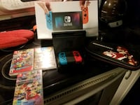 Nintendo switch with games and case Thurmont, 21788