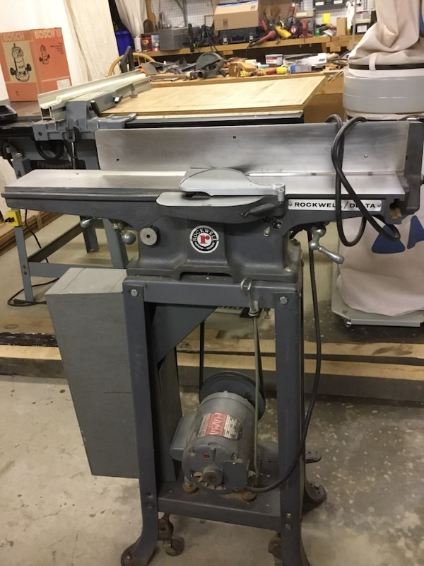 Rockwell Delta 4 Deluxe Jointer