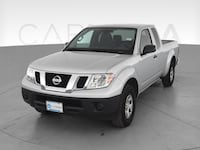 2017 Nissan Frontier King Cab pickup S Pickup 2D 6 ft Silver <br