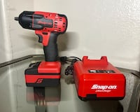Snap on monster lithium ion 18 volt 3/8 impact wrench like new North Las Vegas