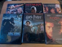 Action DVDs, $2  each  Saugus, 01906