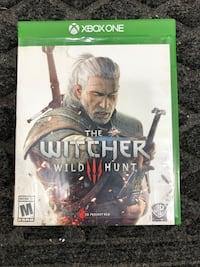 XBox One: The Witcher Wild Hunt