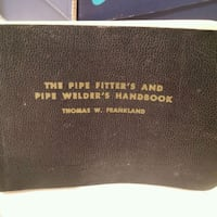 Pipe Fitter's and Welders Book Thomson, 30824