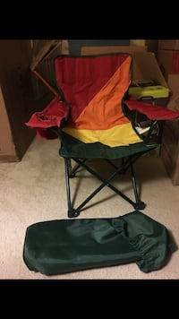Kids portable folding chair for camping beach sports etc 38 km
