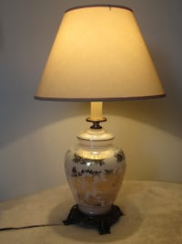 Antique table lamp with shade 517 km