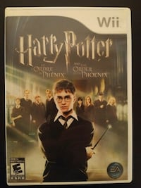 Wii Harry Potter and the Order of the Phoenix game Vaughan, L4L