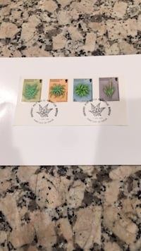 First Day of Issue postage stamps Los Angeles, 90049