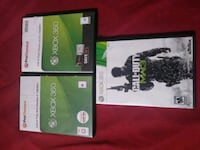two Xbox 360 game cases Mission