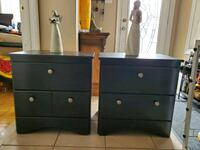 2 side/end/nightstand tables need gone ASAP  PREFERABLY Thursday