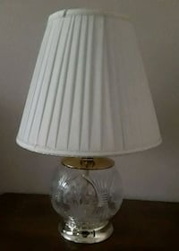 """21""""h Crystal Table Lamp"""