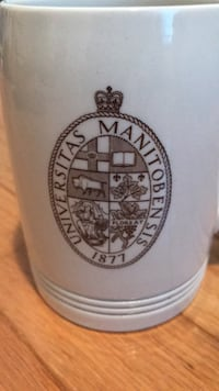 Manitoba University First Edition Mug/Stein Sarnia, N0N 1C0