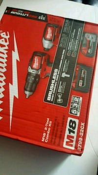 Milwaukee M18 Fuel cordless drill box Los Angeles, 90009