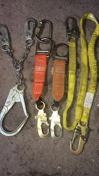 four assorted color leather belts New York, 11368