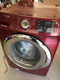 red and silver Samsung front-load washing machine Rio Rancho, 87124