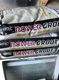 Three 25 pound bags of power grout Seaside Heights, 08751