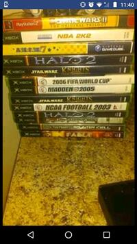 1 GameCube,1 PSP GAME GTA LBC And after Xbox Games  Baltimore, 21225