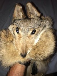 Fox fur hat. Authentic. Hand made.