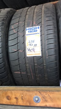 275/40/19 Michelin tire  Los Angeles, 90003