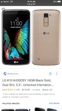 black LG android smartphone screenshot Chicago, 60639