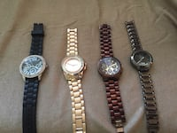 three round silver analog watches Oshawa, L1J 1N2