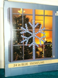 24 inch Blue Snowflake New Clifton, 20124
