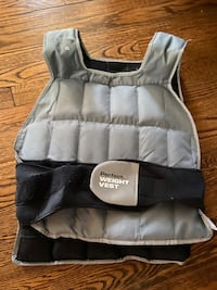 Perfect weight vest 40lbs