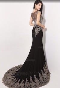 Woman's prom gown 68 km
