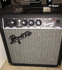 black and gray Fender guitar amplifier Leesburg, 20176