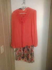 Large and Tall woman?  Bohemian top and long skirt Largo, 33770