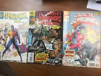 6 different Marvel comic books for $20  Deerfield Beach, 33442