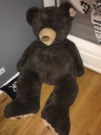 Black and white bear plush toy Arlington Heights, 60005