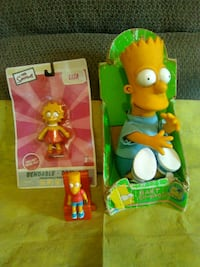 The Simpsons toys  Hedgesville