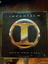 Imperials Heed the Call vinyl record Anderson, 46016