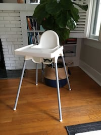 White & Grey High Chair  Jacksonville, 32205