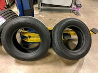 two black rubber car tires Chantilly, 20151