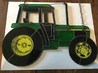 Handmade John Deere stained glass tractor Arlington, 22202