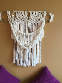 New large macrame wall decor Toronto, M4C