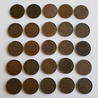 Lot of 25pcs 1859 to 1920 Antique Large Canadian P Calgary, T2R 0S8