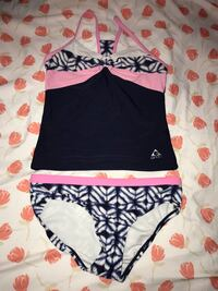 Girls swimsuit with shorts size 10