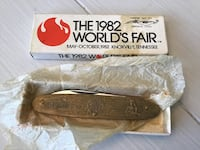 World's Fair 1982 Knoxville Pocket Knife in Box