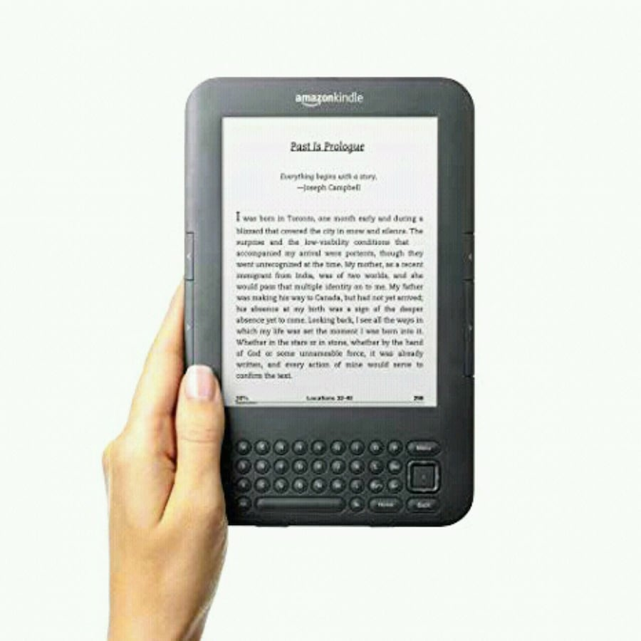 "Amazon Kindle - Wi-Fi (8GB) Graphite - 6"" - Excellent Condition"