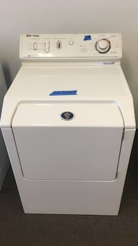 white front-load Maytag gas dryer Concord, 94520