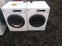 24inch front load washer and dryer set 90 day warranty Takoma Park, 20912