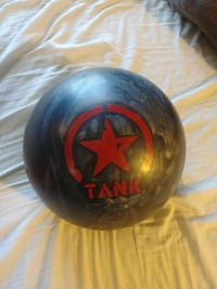 round black and red Tank bowling ball Taneytown, 21787