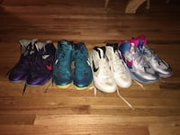 Four Pairs of Nike Basketball Shoes Brigham City, 84302