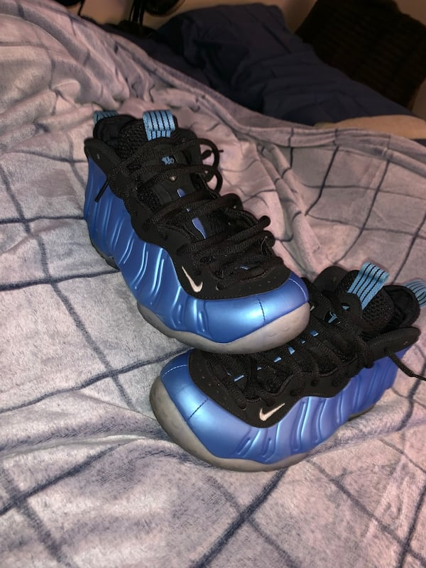 Nike air foamposite one university blue 3