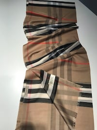 %100 Burberry Scarf long size , New Irvine, 92602