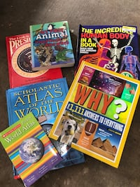 Lot of educational books for kids Carrollton, 75006