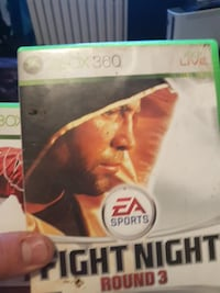 EA Sports Fight Night Round 3 Xbox 360 game case Peterborough, K9H 3T2